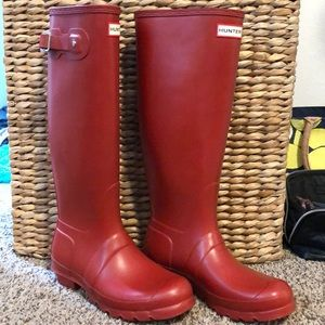 Hunter Wellies Size 8